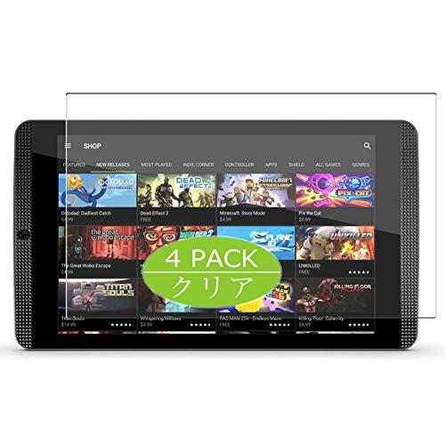 VacFun 4 Piezas Claro Protector de Pantalla, compatible con NVIDIA SHIELD Tablet 8.0', Screen Protector Película Protectora(Not Cristal Templado) NEW Version