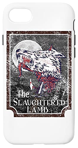 Slaughtered Lamb Custodia Per Telefono Compatibile Con iPhone 7, iPhone 8, iPhone SE 2020 Copertura in Plastica + Silicone Dura Hard Plastic Cover