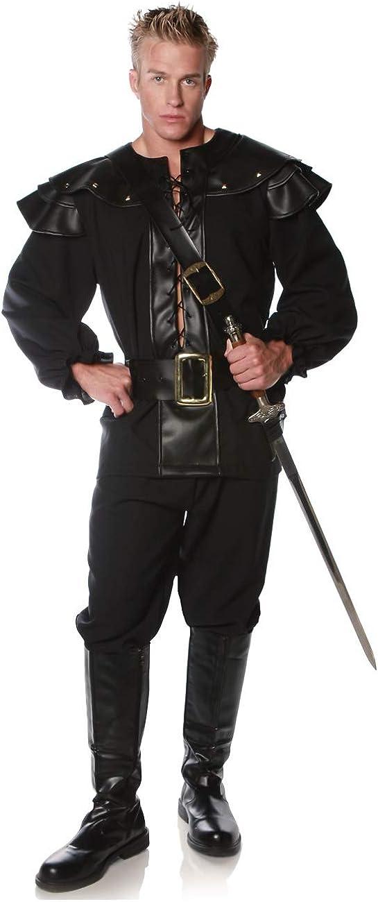 Underwraps Men's Defender Costume Bargain Size One Renaissance Pirate Finally popular brand
