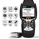 INNOVA 6200P OBD2 Scanner ABS SRS All Systems Code Reader with Battery Reset Oil Light Reset, Car Diagnostic Scan Tool with Battery Alternator Test Service/Smog Test/Live Data/Lighted Connector