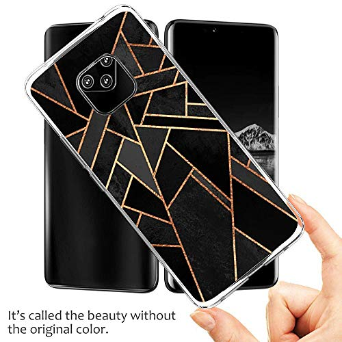 Croazhi Compatible with Hülle Huawei Mate 20 Pro Case Handyhülle para Huawei Mate 20/ Mate 20 Pro Silikon Crystal Tasche Cover TPU Schutzhülle Clear Transparent Backcover (6, Huawei Mate 20 Pro) - 2