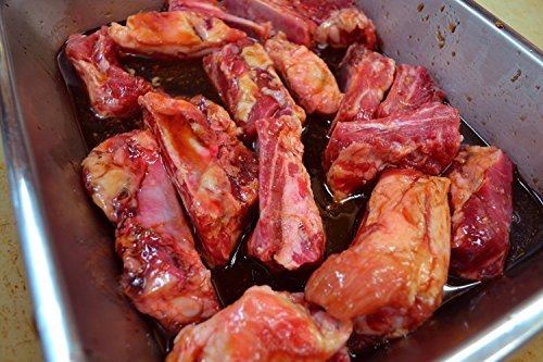 国産 豚肉 スペアリブ 500g 自家製 たれ漬け 焼くだけ カット済(絶品味付け)