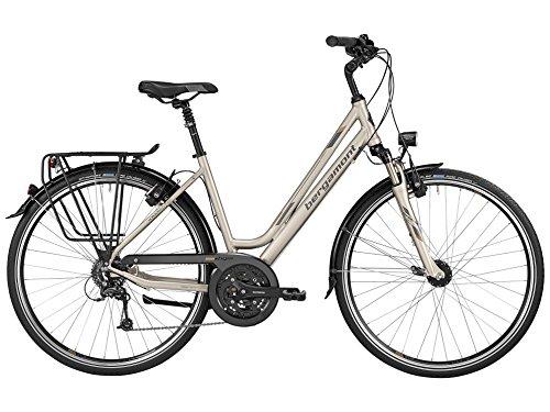 Bergamont Horizon 6.0 Amsterdam Damen Trekking Fahrrad creme weiß/grau/gold 2016: Größe: 44cm (158-164cm)