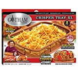 GOTHAM STEEL, 2 Piece Nonstick Copper Crisper Tray and Basket, Air Fry in your Oven, for Baking and Crispy Foods, As Seen on TV –, XXL