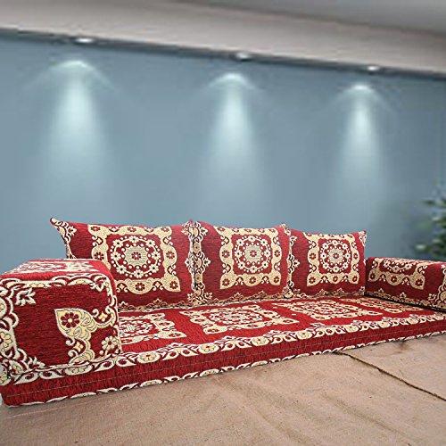 Spirit Home Interiors Boden Sitz Sofa Boden Couch für Deine gemütliche Wohnzimmersitzecke