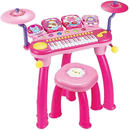 AAFF Entwicklungsspielzeug Kindermusik Klavier Früh Pädagogisch Spiel Spaß, Elektronische Orgel Keyboard Spielwaren, Pädagogisches Spielzeug Kleinkinder Ab 3 Jahre,A