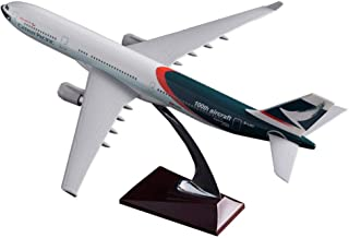 40Cm樹脂A330キャセイパシフィック航空路モデル100周年記念航空機飛行機中国キャセイパシフィック航空エアバスモデルおもちゃ