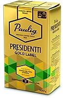 PAULIG PRESIDENTTI パウリグ プレジデント ゴールド ラベル コーヒー 500g1袋 PAULIG - Presidentti Gold Label フィンランドのコーヒーです [並行輸入品]