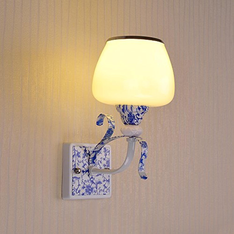 WINZSC Wand Lampen Nacht treppe korridor Wohnzimmer warme Moderne Einzelne Kopf 2 kpfe Wandleuchte LU823404 LU9 (Größe   1head)