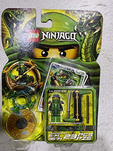 Lego NINJAGO Lloyd ZX Green Master of Spinjitzu #9574 NEW