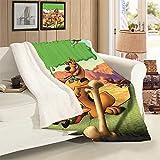 VICWOWONE Scooby Doo - Manta de cordero para adulto (terciopelo de cordero como regalo)