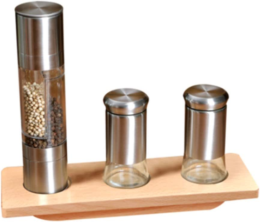 YJ Double-Headed Pepper Surprise price Cheap super special price Mill 2-in-1 Steel Gr Grinder Stainless