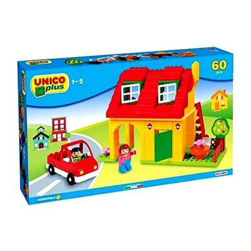Unico Plus- Casitas Juego de construcción (Androni 8515) , color/modelo surtido