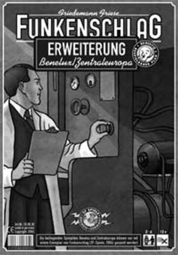 Unbekannt 2F-Spiele 2FS00003 - Funkenschlag: Benelux/Zentraleuropa Erweiterung