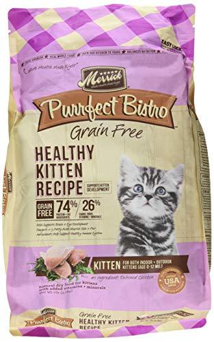 Merrick Purrfect Bistro Grain Free Healthy Kitten Dry Food