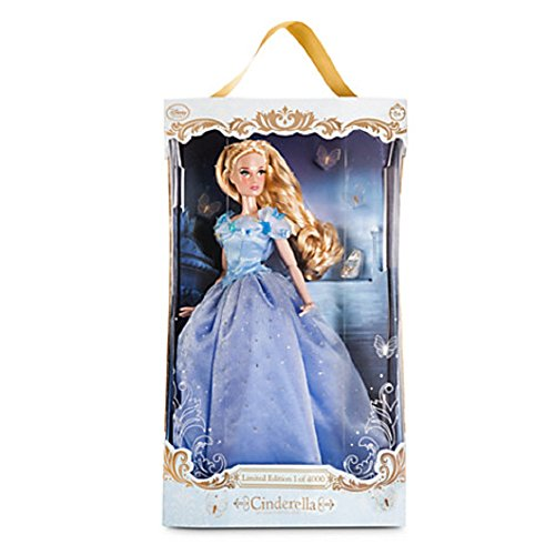 Disney Store Cinderella Limited Edition Doll - Live-Action Film - 17'' Limited Edition 4000