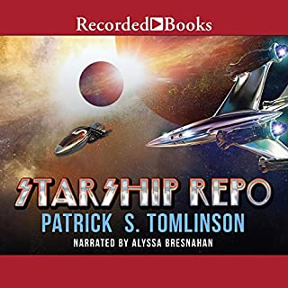 Starship Repo audiobook cover art