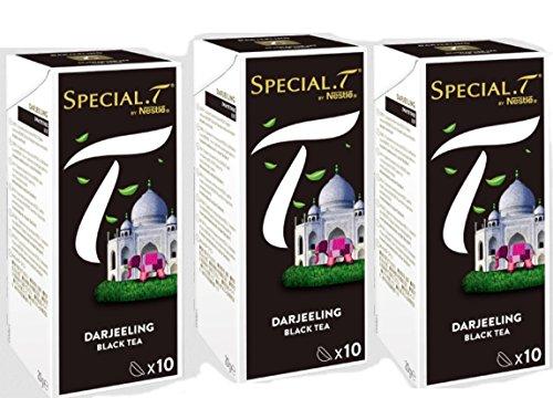 Original Special T - Darjeeling - Schwarztee - 30 Kapseln (3 Packungen) für Nestlé Tee Maschinen