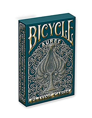 Bicycle Aureo Playing Cards, Gold,