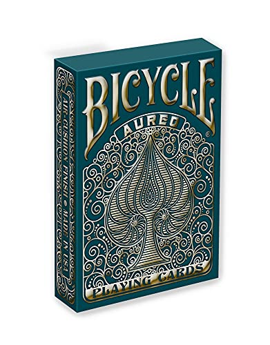 Bicycle Unisex-Erwachsene Aureo Playing Cards Spielkarten, Gold, 1