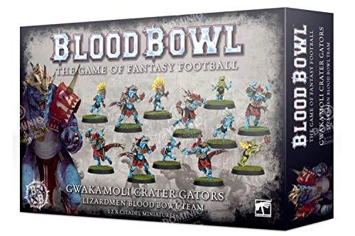 Blood Bowl Gwaka'moli Crater Gators - Lizardmen Team