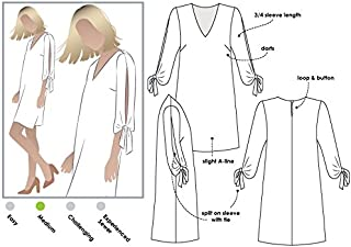 Style Arc Sewing Pattern - Marilyn Dress (Sizes 04-16) - Click for Other Sizes Available