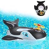 Ulikey Baby Schwimmring, Schwimmsitz Kleinkinder, Aufblasbarer Schwimmreifen, Baby Pool Schwimmring, Schwimmreifen für Baby, Aufblasbarer Schwimmhilfe (Schwimmring-d)