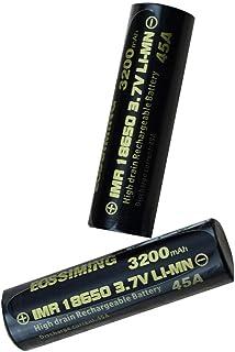 Bateria 18650 Recargable 3.7V 18650 Batería De Litio Batería De Alta Velocidad 18650 3200Mah Scooter Batería De Cigarrillo Electrónico 2Pcs