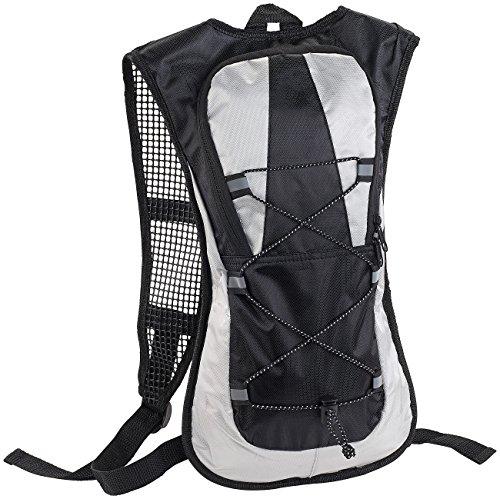 Xcase Bike Rucksack: Ultraleichter Fahrrad-Rucksack mit Reflektoren, wasserabweisend, 5 l (Fahrradrucksack)
