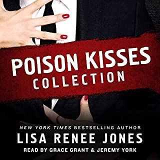 Poison Kisses Collection audiobook cover art