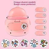 Immagine 1 faburo nail stamper per bambine