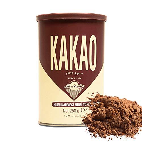 Kurukahveci Nuri Topal Natura Geroosterde Grond Cacao/Cacaopoeder