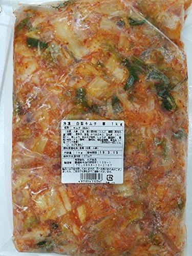 冷凍 白菜 キムチ ( 華 ) 1kg×10P 業務用