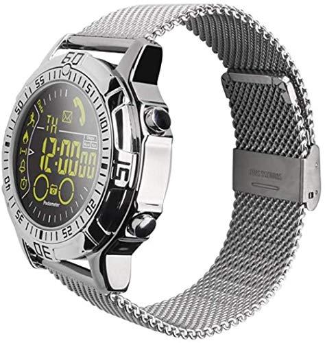 Reloj inteligente, deportes al aire libre militares caja de metal teléfono información recordatorio impermeable