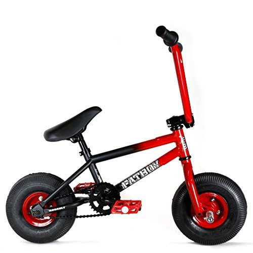 FatBoy Mini BMX AFAS-RDBK-10 Assault Bike, Red/Black by Pro-Motion Distributing - Direct