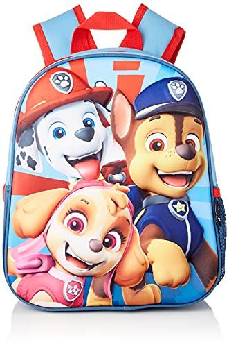 Paw Patrol La Patrulla Canina Cerdá - Mochila Infantil 3D - Licencia Oficial Nickelodeon, Multicolor, 260 x 310 x 100mm (CRD-2100003097)