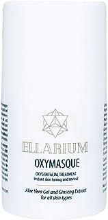 Ellarium Oxymasque Self-Activating Oxygen Facial Foaming Masque with Aloe Vera and Ginseng Extract, 1 fl. o...