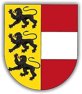 innagrom Carinthia City Coat of Arms Austria Home Decal Vinyl Sticker 4'' X 5''