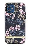 RICHMOND & FINCH Funda Telfono Diseada para iPhone 12 Funda, iPhone 12 Pro 6.1 Funda, Selva Floral Fundas Probadas contra Cadas, Bordes Elevados a Prueba De Golpes, Funda Protectora