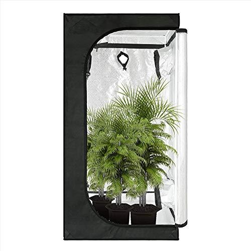 QIDIAN Doble Uso 2-en-1 Cubierta hidroponía Prueba de luz Grow Tiendas de campaña para la propagación de Plantas Madre esquejes (120X120X200CM)