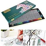 Matite colorate, pennarelli da disegno, matite per mappe, set di matite professionali numerate per 150 colori, set di matite colorate, esagonali per studenti d'arte adulti e bambini
