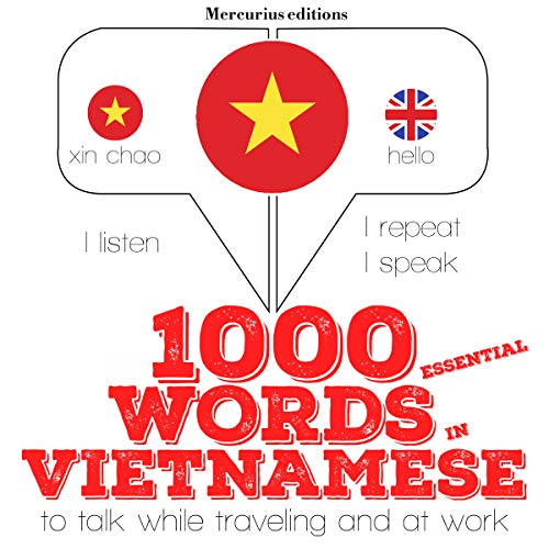 1000 essential words in Vietnamese cover art