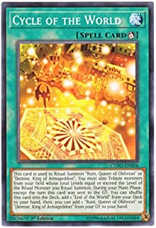 Yu-Gi-Oh! English Version CYHO-EN 056 Cycle of The World Endless of The World (Normal) 1st Edition