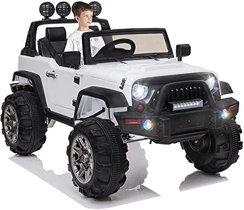 OTTARO Kids Electric Car Ride on Cars Trucks, Battery Powered Car for Kids,12V...