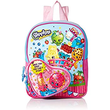Shopkins Girls 10 Inch Mini Backpack Heart Sh | Shopkin.Toys - Image 1