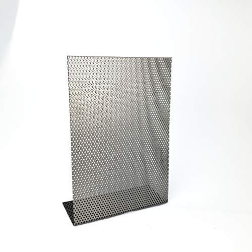 Edelstahl roh Lochblech RV2-3,5 Edelstahl 1,5 mm dick Lochblech Zuschnitt nach Maß (500 mm x 550 mm)