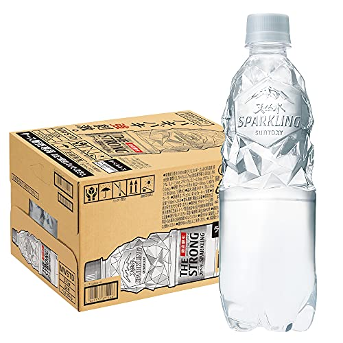 THE STRONG 天然水スパークリング 510ml×24本 PET