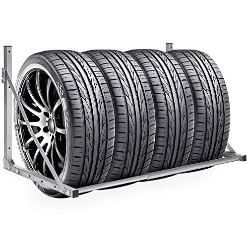 Hehilark Wand Reifenhalter Reifenhalter Wandmontage Reifenhalter Set Reifenwandhalter für Auto Felgen Reifen Wandhalterung - einfach anzubringen