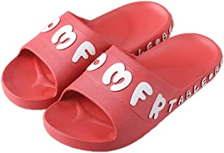 YAXY Lady Woman's Man's House Indoor & Outdoor Multifunction Slippers Casual Shoes Light Weight Anti-Slip Massage Shower Bath Pool Gym Slides Open Toe Comfortable Soft Sandals