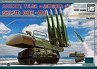 パンダホビー 1/35 ロシア 9K37M BUK-ML 防空ミサイル・システム w/金属履帯 プラモデル